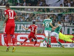 Packendes Spiel: FC Bayern ringt Werder nieder