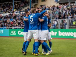 Doppelpacker Breier schießt Rostock zum Pokalsieg