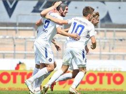 5:3! Karlsruhe sichert sich gegen Waldhof den Pokalsieg