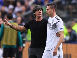 Draxler reist nicht nach - Hector und Reus trainieren