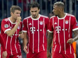 Totale Überraschung und Enttäuschung bei FCB-Trio