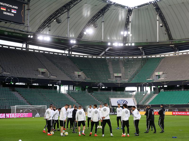Neustart im DFB-Team: Erstes Training in Wolfsburg