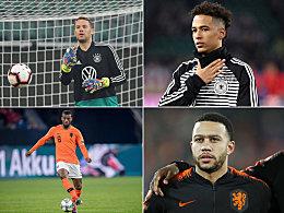Die Aufstellungen: Deutschland mit Bayern-Quintett