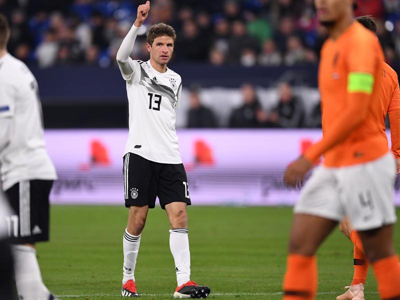 Müller steigt ein: Der Hunderter-Klub der DFB-Auswahl