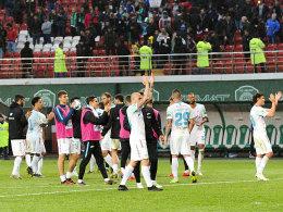 Zenit St. Petersburg feiert Meisterschaft