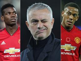 Sechs Personen, mit denen sich Mourinho als United-Trainer anlegte