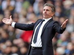 Leicester trennt sich von Trainer Claude Puel