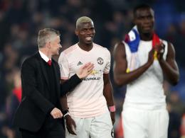 Pogbas Flirt mit Zidane beunruhigt Solskjaer nicht