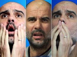 Aufgekratzter Guardiola stichelt gegen ManCity-Fans
