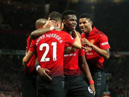 Starker Pogba führt United zum dritten Sieg in Folge