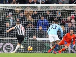 Newcastle dreht das Spiel - Ritchie schockt ManCity