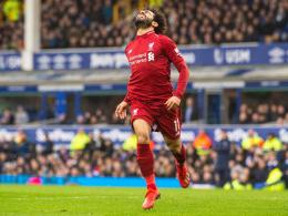 Salahs lange Reise: Liverpool verliert Platz 1 im Derby