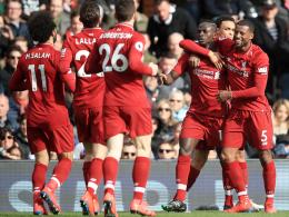 Liverpool wackelt kurz - ist aber wieder Tabellenführer