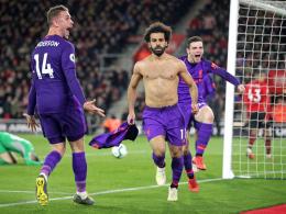 Liverpool dreht spät auf: 3:1 in Southampton und Erster