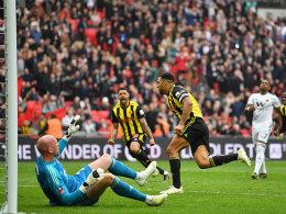 Watford nach Wembley-Thriller gegen die Wolves im Finale