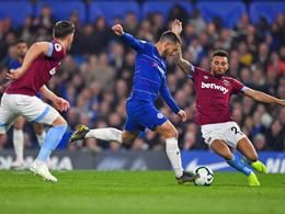 Weltklasse-Hazard führt Chelsea zum Sieg im London-Derby
