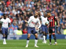 Lucas Moura besiegt Huddersfield im Alleingang