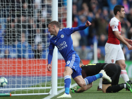 0:3 in Leicester: Gunners in Unterzahl ohne Chance