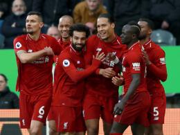 Liverpool bleibt mit Kraftakt im Rennen - Sorgen um Salah
