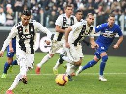 Dank Cristiano Ronaldo: Juve baut Rekord aus