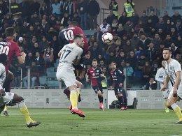 Trotz Barellas Fehlschuss: Cagliari bezwingt Inter