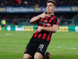 Milan wahrt Serie dank Biglia-Zauber und Piatek