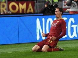 Triefende Trikots, Ranieri-Debüt und Roma-Sieg