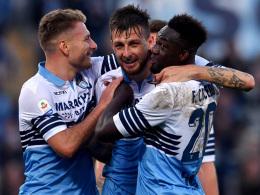 Caicedo führt Lazio zum souveränen Sieg