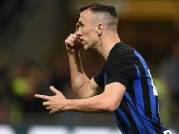Inter Mailand steigert sich - und Perisic rettet das Remis