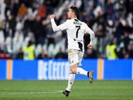 Cristiano Ronaldo bewahrt Juve vor der Derby-Niederlage