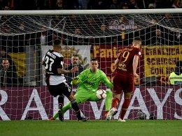Ronaldo provoziert, Florenzi antwortet - die Roma siegt
