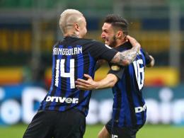 Politano und Perisic schießen Inter auf Platz drei zurück