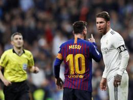 Piqué rügt Ramos für Tätlichkeit an Messi - Mourinhos Erklärung