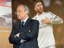 Gerieten Ramos und Präsident Perez aneinander?