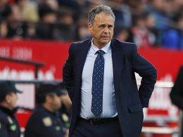 Sevillas Trainer Caparros an Leukämie erkankt