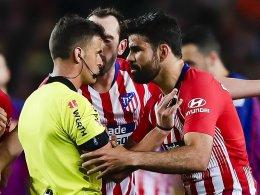 Diego Costa nach Ausraster für acht Spiele gesperrt