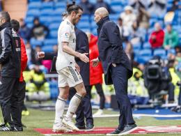 Bale steht vor dem Abschied