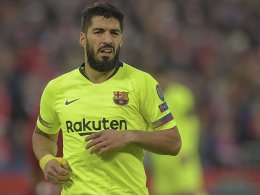 Suarez verpasst das nächste Finale
