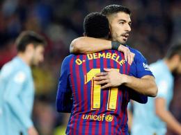Barça schont sich - Dembelé bleibt ein unverzichtbares Puzzleteil