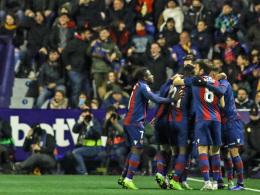 Ohne Messi & Co.: Barça verliert bei Levante