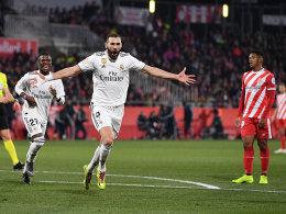 Reals Benzema zu stark für Girona