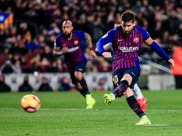Messi trifft vom Punkt, Messi vergibt vom Punkt