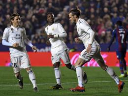 Bale jubelt nicht: Reals Kraftakt vor dem Clasico