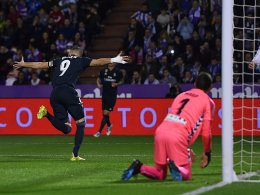 Doppelpack Benzema: Real Madrid müht sich zum 4:1