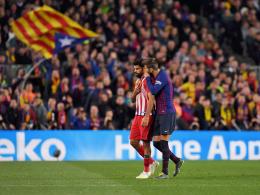 Diego Costa rastet aus - Barça reichen verrückte 103 Sekunden