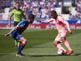 Barça im Schongang: Malcom trifft nur den Pfosten