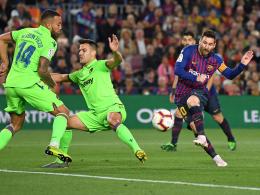 Joker Messi macht's: Mit Zittersieg Meister