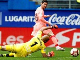 Messi legt im Schuhstreit vor - Cillessen beschenkt De Blasis