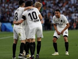 Messis Tor reicht nicht - Valencia Pokalsieger