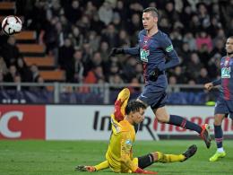 PSG souverän im Pokal - Draxlers Schlusspunkt